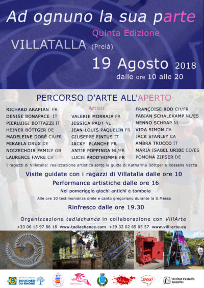 Speak! engagiert sich bei Kunstevent in Italien
